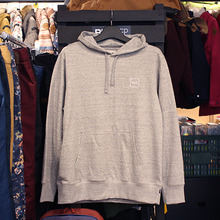 [허프] MILTON PULLOVER HOOD (GREY HEATHER) - HFA17FL00004GY [허프 HUF 후드티/긴팔티]